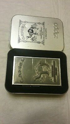 Camel 1932 Replica Second Release Zippo Lighter, With Tin.