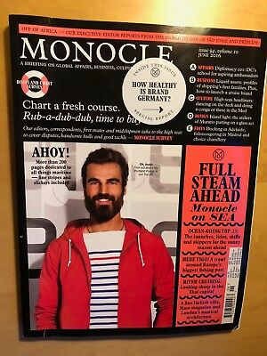 Monocle Magazine - June 2016 Issue 94 Volume 10 good condition