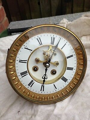 French Clock Movement And Dial