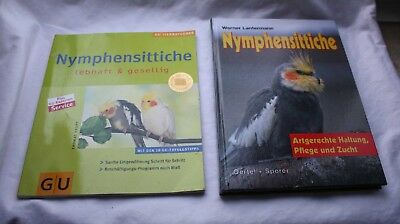 Nymphensittiche - Werner Lantermann + Sachbuch Nymphensittiche GU Tierratgeber
