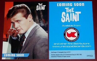The Saint (Roger Moore) Trading Cards by Unstoppable Cards Promo Card PR3
