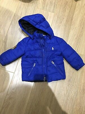 Baby Boy Ralph Lauren Coat 9-12m
