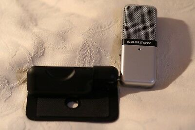 Samson 'Go Mic' USB Microphone Perfect Working Order with Case