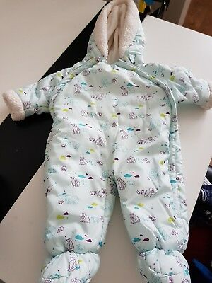 Baby boy snowsuit, VGC, new born, Ted Baker