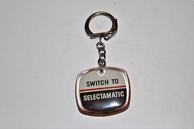 DAVID BROWN - Switch to Selectamatic Keyring - 1960`s tractor