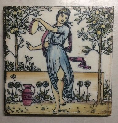 Victorian Classical Maiden Tile