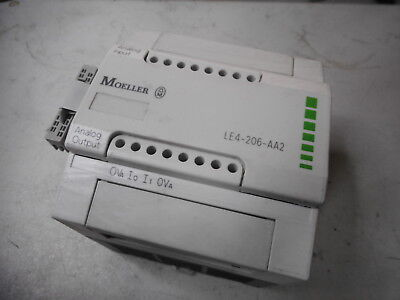 MOELLER - ANALOG I/O EXPANSION MODULE - 4 x Input 2 x Output - LE4-206-AA2