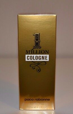 125 ml 1 MILLION COLOGNE Herren EDT Spray von Paco Rabanne NEU