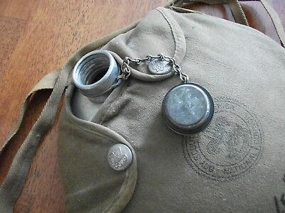 Vintage Boy Scout Canteen And Case..60 Years Old..original..
