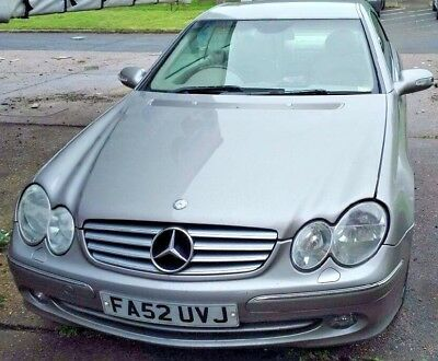 Mercedes Benz CLK 240  Elegance Silver Petrol     RELISTED DUE TO TIMEWASTER