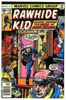 Rawhide Kid #139 VF/NM 9.0 ow/white pages  Marvel  1977  No Reserve