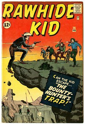 Rawhide Kid #26 VF 8.0 off-white pages  Marvel  1962  No Reserve