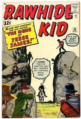 Rawhide Kid #33 VF 8.0 ow/white pages  Marvel  1963  No Reserve