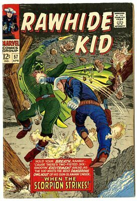 Rawhide Kid #57 VF 8.0 off-white pages  Marvel  1967  No Reserve