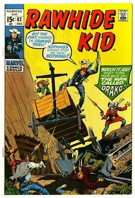 Rawhide Kid #82 FN 6.0 white pages  Marvel  1970  No Reserve
