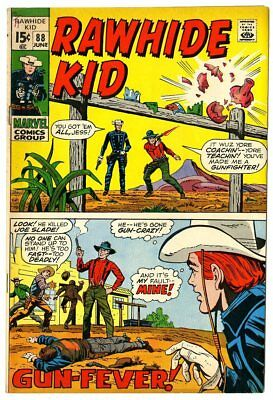 Rawhide Kid #88 VF+ 8.5 ow/white pages  Marvel  1971  No Reserve