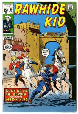Rawhide Kid #90 NM- 9.2 white pages  Marvel  1971  No Reserve