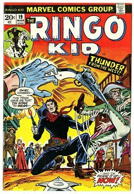Ringo Kid #19 VF/NM 9.0 off-white pages  Marvel  1973  No Reserve