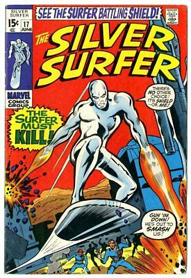 Silver Surfer #17 VG/FN 5.0 ow/white pages  Mephisto  Marvel  1970  No Reserve