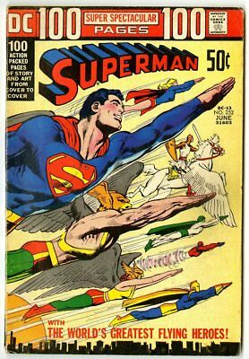 Superman #252 VG 4.0 off-white pages  DC  100 Page Giant  1972  No Reserve