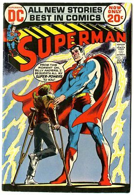 Superman #254 VF 8.0 ow/white pages  Neal Adams art  DC  1972  No Reserve