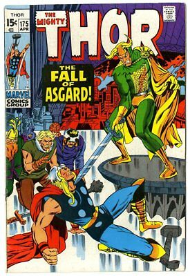 Thor #175 VF/NM 9.0 white pages  vs. Loki  Marvel  1970  No Reserve