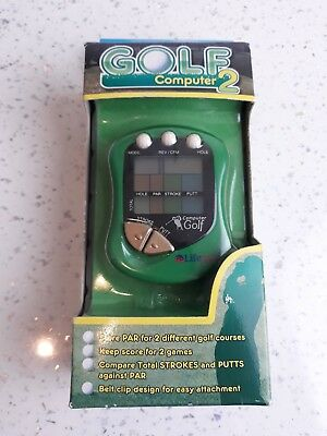 Golf Computer 2 Store Par For 2 Different Golf Courses Score For 2 Games