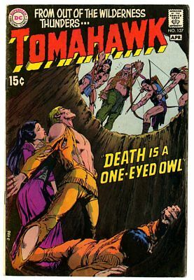 Tomahawk #127 VF 8.0 off-white pages  Neal Adams cover  DC  1970  No Reserve