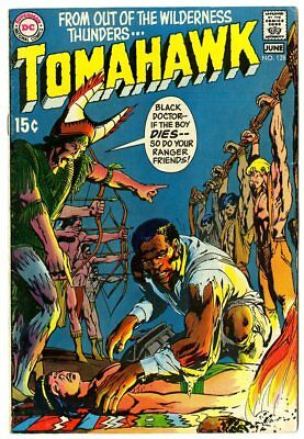 Tomahawk #128 FN- 5.5 ow/white pages  Neal Adams cover  DC  1970  No Reserve