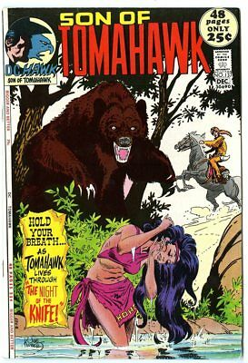 Tomahawk #137 NM- 9.2 white pages  DC  Giant  1971  No Reserve