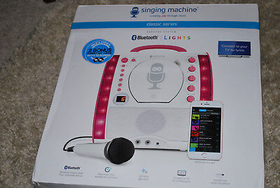 NEW CLASSIC SERIES KARAOKE MUSIC SINGING MACHINE CD PLAYER & 2 BONUS CHART CDs