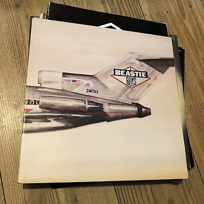 Beastie Boys Licensed To Ill Vinyl Lp Hip Hop 1986 Original Release Rare 4500621