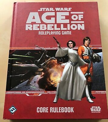 "Star Wars ""Age Of Rebellion Core Rulebook"" von FFG (Englisch)"