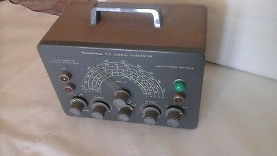 Vintage Heathkit Sg8 Rf Signal Generator Benton Harbor Michigan Usa