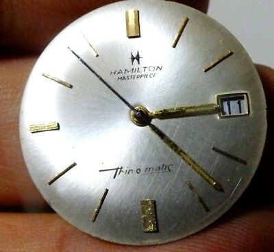 Hamilton Masterpiece Thin o matic 629 Buren micro rotor watch movement run (18)