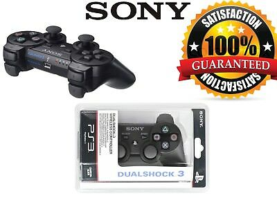 Brand New Sony Playstation 3 Dual Shock Sixaxis Ps3 Controller Black