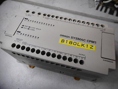 OMRON SYSMAC CPM1 PLC -- 12 Input 8 Relay Output --  CPM1-20CDR-A