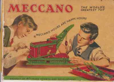 Meccano hours are happy hours  13/449/25