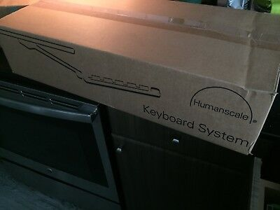 Humanscale Keyboard System, Mouse Rest, and Wrist Rest New