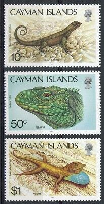 s626898 Cayman Islands - Sc#583-85 MNH