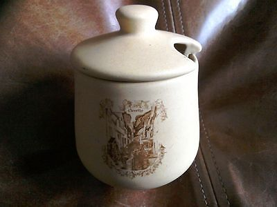 Honiton pottery Clovelly Jam Pot