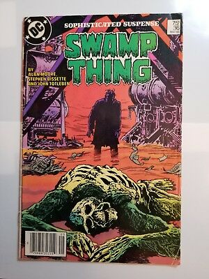 Swamp Thing 2Nd Series #36, 46, 55, 59. 4 Issue Lot