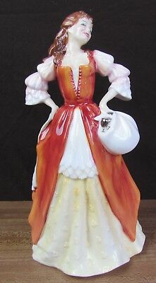 "Royal Doulton Moll Flanders Hn 3849 8.5"" Limited Edition Literary Heroines"