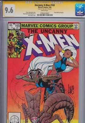 Uncanny X-Men #165 SS CGC 9.6 signed by Paul Smith - Signature Series