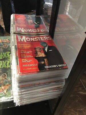 Huge Lo Of 46 Famous Monsters Of Filmland #1 Others
