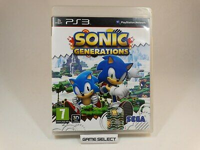 Sonic Generations The Hedgehog Sony Playstation 3 Ps3 Pal Ita Italiano Completo