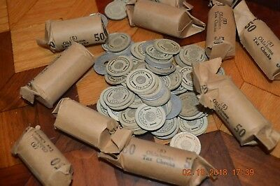 Large Lot Sales Tax Tokens, some still wrapped, Oklahoma!  Free shipping