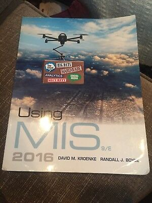Using mis by david m kroenke and randall j boyle 2017 paperback using mis by david m kroenke randall j boyle 9th edition fandeluxe Images