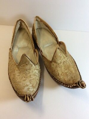 Gold Genie Shoes Leather Soles