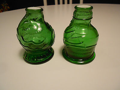 Wheaton Pocahontas & Catarah Cure Salt & Pepper Set-Excellent